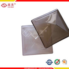 Guangzhou yuemei--pyramid skylight ,pc skylight polycarbonate sheet