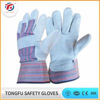 Wholesale mens cheap industrial leather working gloves