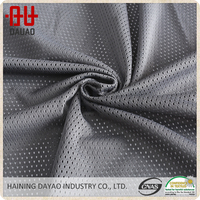 High quality dry fit sports team mesh fabric