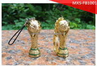 Soccer loveer 2014 new arrival High grade cufflinks of world cup ,gold filled 2014 world cup trophy cufflinks