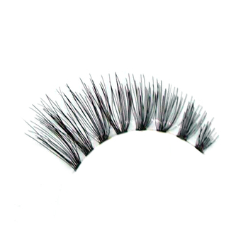 New arrival beauty supply handmade 100% human hair natural lashes factory
