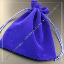 New design velvet bag for pen with drawstring