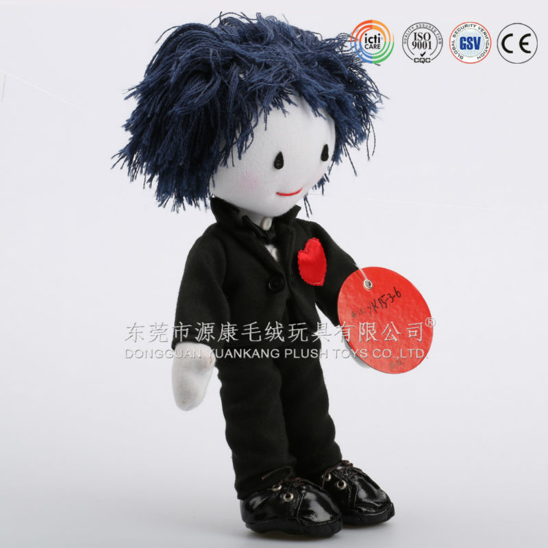 Hot sale life sized plush doll china maker
