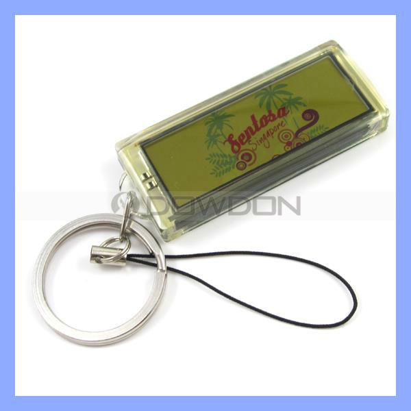 Solar Charger Mobile Phone Key Chain for Presents