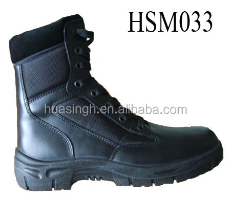 army troops training tactical gear MIL-SPEC steel toe military boots for Africa