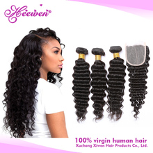 wholesale alibaba deep wave natural color virgin brazilian human hair weaves china vendors