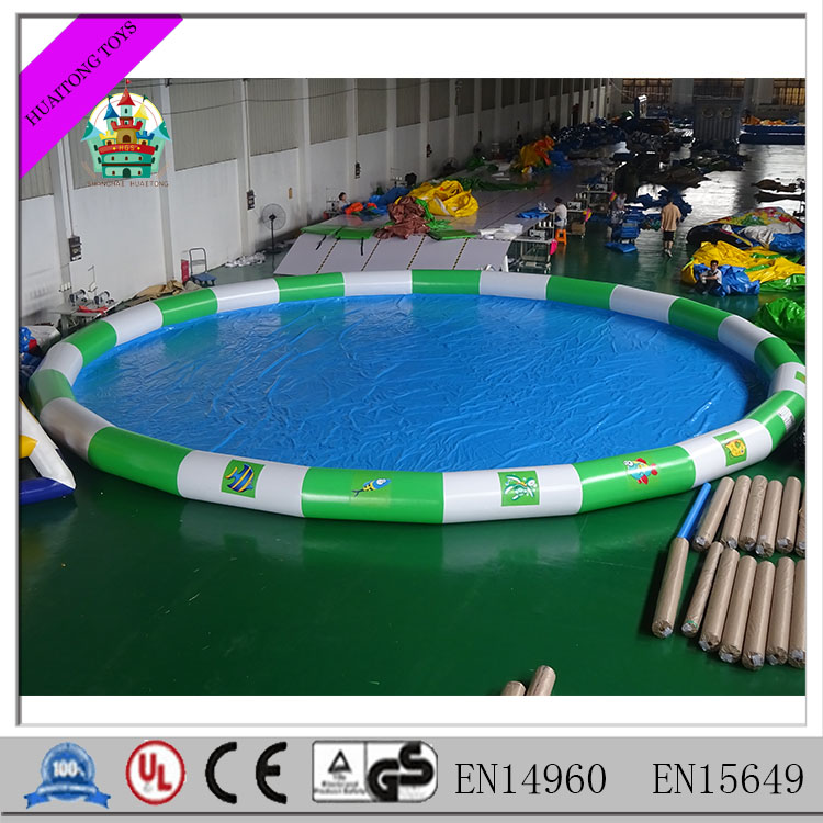 Giant PVC kids inflatable swimming pool for sale 2016