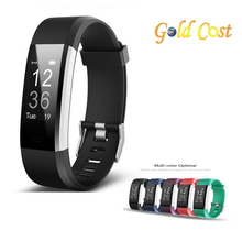 2018 amazon New hotselling smart bracelet band fitness tracker ID115 HR plus with heart rate monitor