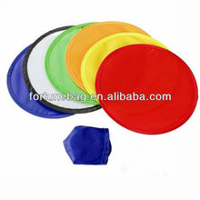 Pet ring foldable Nylon Frisbee Promotional
