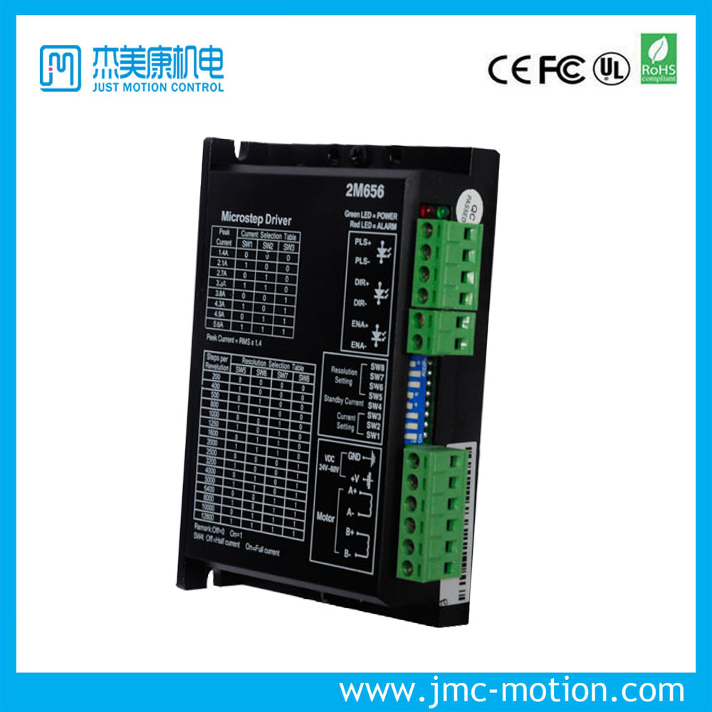 2 phase Nema 17 23 stepper driver High Performance 1.4~5.6A JMC 2M656