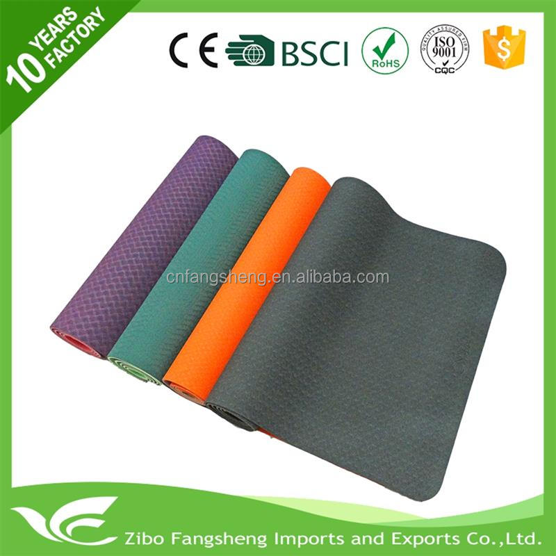 Professional pilate type yoga mat cheap gym mats easy to clean