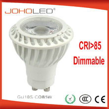 GU10S-5W 5w led cob lamp cob led down lamp ce rohs gu10 led spotlight