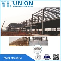 low cost fast install steel warehouse building kit