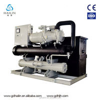 Industrial Water Cooled Chiller With Water Tank And Water Pump for plastic injection mould machine cooling