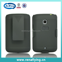 mobile phone accessories factory in china shell holster combo for lg l30