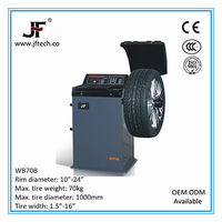 High quality and inexpensive fe wheel balancer with spray coating
