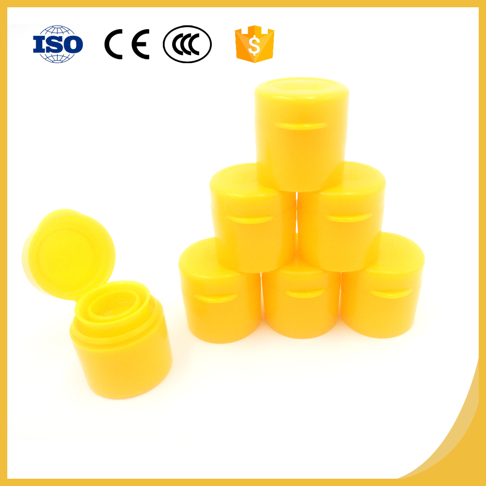Customizable aluminum screw plastic caps for water bottle by Right supplier