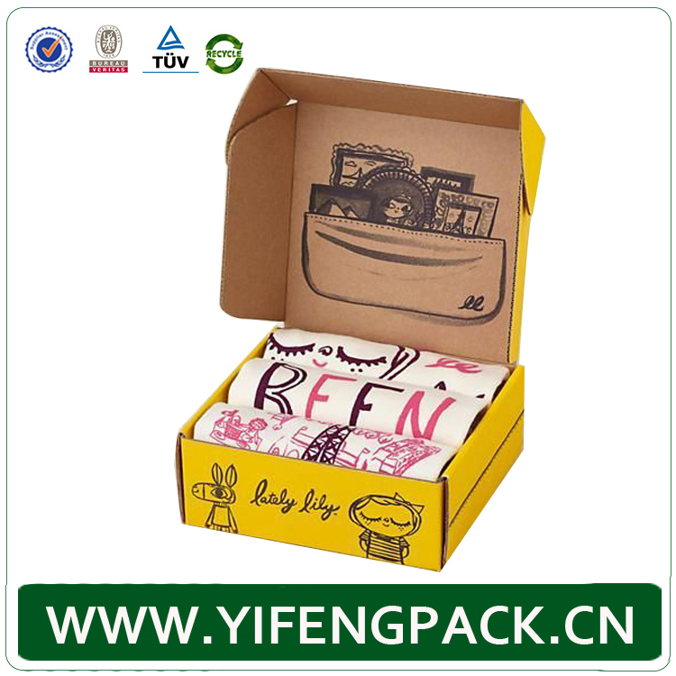 CUSTOM PRINTED CORRUGATED BOX CORRUGATED BROWN MAILING BOX WITH FOAM INSERTS