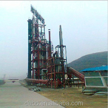 Small biomass gasifier Biomass Pyrolysis system biomass oil production line
