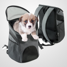 Cat Dog Pet Carrier / Mesh Pup Pack / Soft-sided Outdoor Travel Pet Backpack