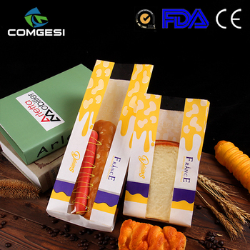 Factory price wholesale paper eco-friendly safety material fast food craft paper sandwich bag