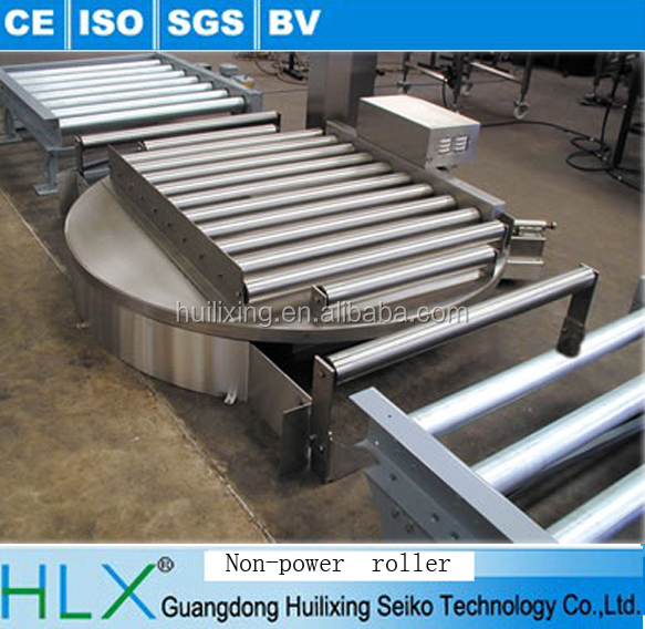 Heavy Duty CF211 Series Roller Powered Pallet Turntable Conveyor for Sale