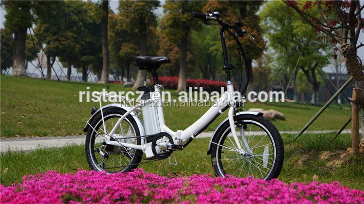 2016 new designed youth folding electric bike fold bike RSEB636