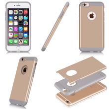 Guangzhou Suppliers High Class TPU+PC Soft Phone Case For iPhone 6 5.5inch