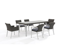 Hot Selling Leisure Dinning Room Set Aluminum Tables And Chairs, Used Garden Table Chair