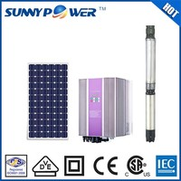New design solar powered submersible water pumps