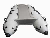 Best selling Popular inflatable catamaran and air floor cat boat for sale for wholesaler