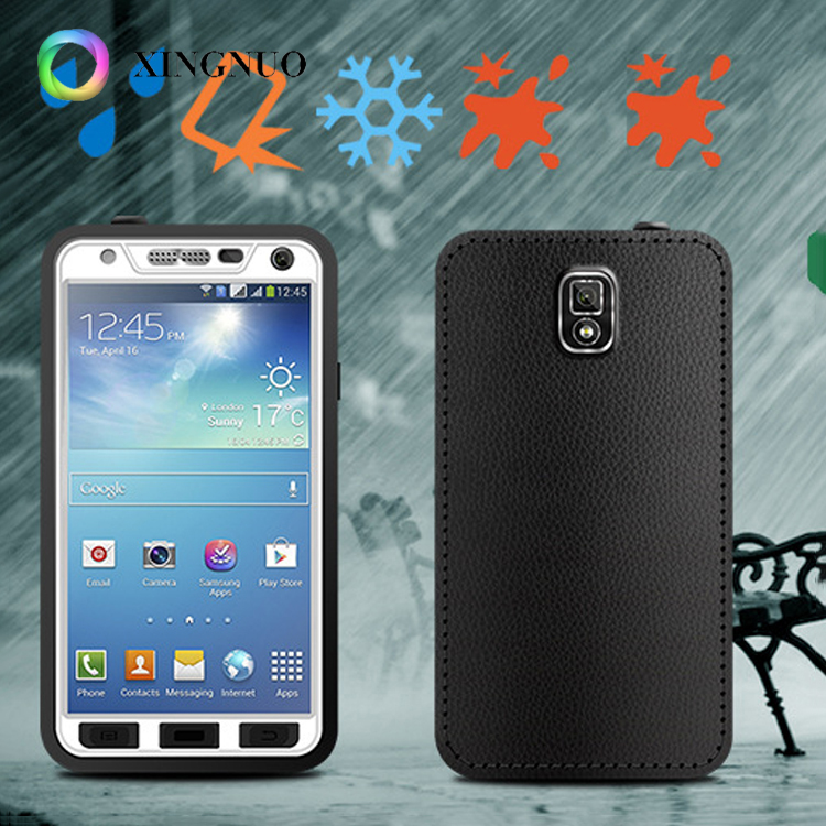 New Arrivals 2018 Ultra Slim Life Water Dust Shock proof Custom Cell Phone Universal Waterproof Case For Samsung Galaxy Note 3