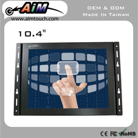 10.4 inch 4:3 wall mount bracket Resistive touch screen 1280x1024 for industrial device