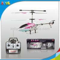 3 Channel Remote Control Helicopter Stable Flying Easy Control Metal Gyro Helicopter