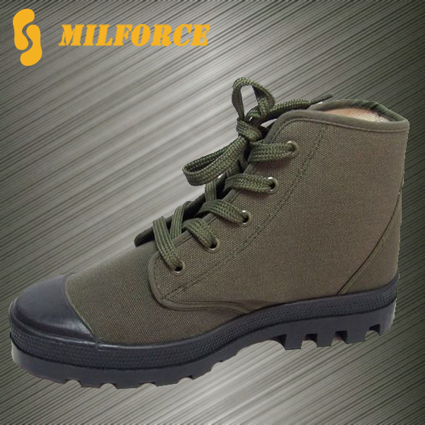 China training shoes high quality men training shoes military canvas shoes