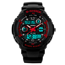 Newest Product SKMEI Top Sale Analog Digital Vogue Wrist Watches for Men Chinese Elite