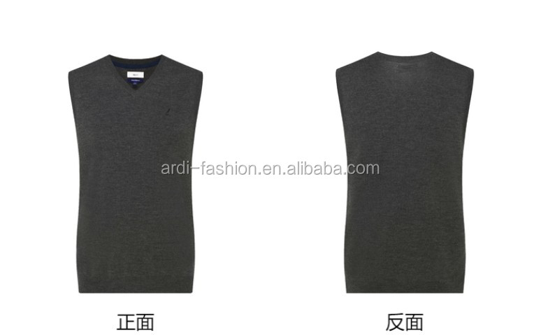 2020 business typ V neck sleeveless herren weste pullover