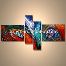 Popular modern oil painting handmade abstract commercial acrylic art
