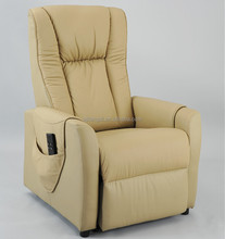 Electric leather reclining massage chair/reclining foot massage office chairKD-LC9002
