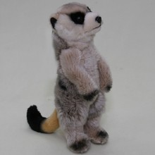 OEM/ODM soft meerkat stuffed plush toys simulation animal for kids from chinese toy manufacturers