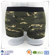 Camouflage mens underwear free sample men underwear wholesale