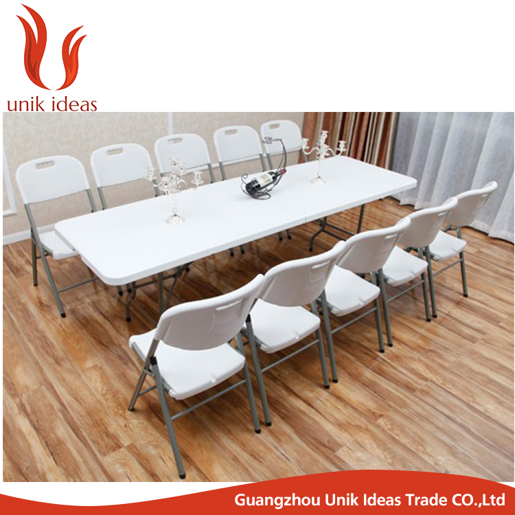 Outdoor Blow Molded Folding Long Table
