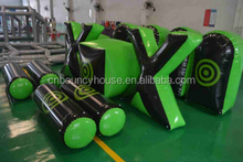 inflatable paintball bunker for adult with high quality