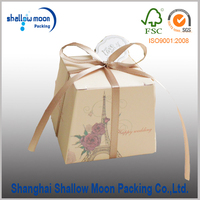Unqiue Paper Candy Box Wedding Favor Candy Box Candy Packaging Box