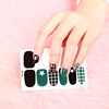 Hot selling self-adhesive nail decal sticker,paper printing nail sticker
