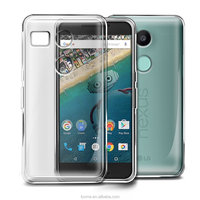 Crystal Clear Gel TPU Case Cover For LG Nexus 5X