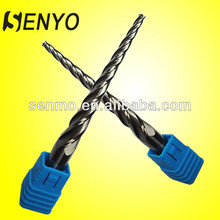 Senyo End Mill 4 Flute/Carbide Straight Shank Taper Flute Edge End Mills/Milling Tooling For Aluminum Alloy