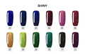 2017 RONIKI brand 7.3ml new global uv/led colorful series gel nail polish