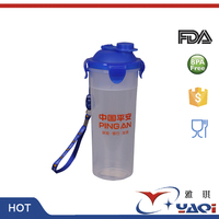 Customized Logo OEM Phthalate Free Popular Wholesale Shaker Bottle