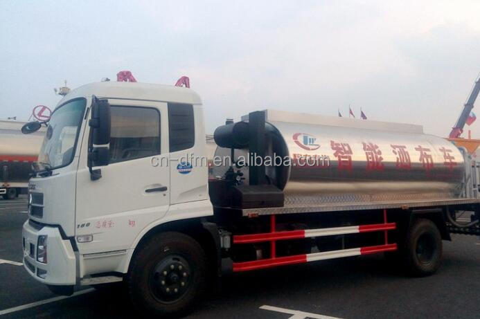 DONGFENG 8*4 350hp 20000 Liters Chemical Liquid Tank Truck for Hot Asphalt